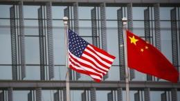 Biden-Regierung fordert von China Stopp der Einschüchterung