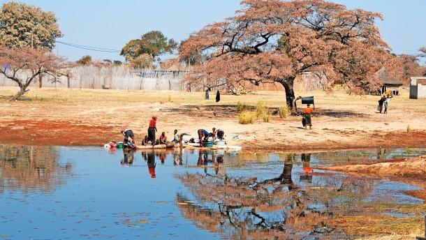 Das Okavango-Delta am Scheideweg
