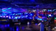 So sieht die Leipziger Messehalle aus, wenn der größte Hackerkongress Europas tagt.