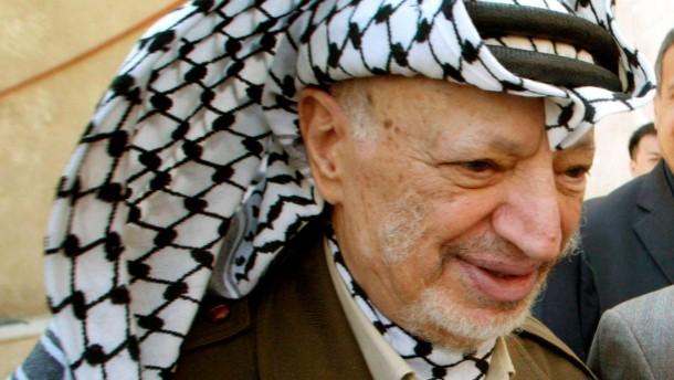 Arafat wurde nicht vergiftet