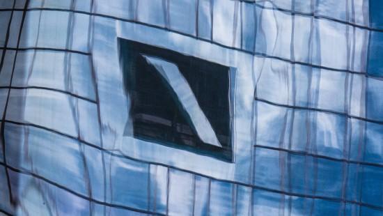 Geldwäsche bei der Deutschen Bank?