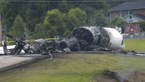 Rennfahrer überlebt Flugzeugunglück