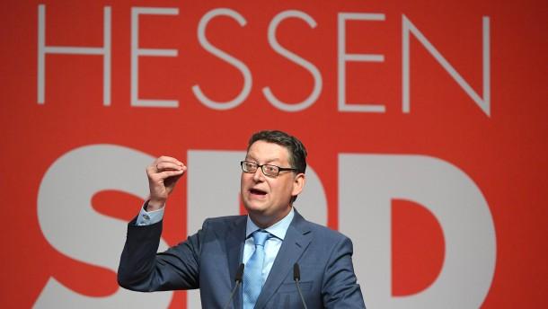 """Schäfer-Gümbel: """"Für mich ist Politik kein Spiel"""""""