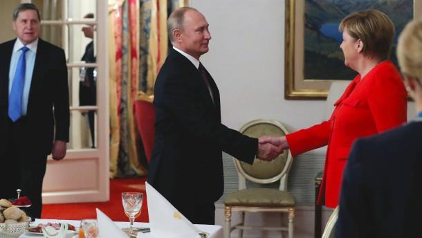 Putin schließt Frieden mit derzeitiger Regierung in Kiew aus