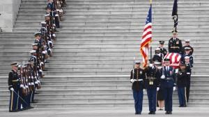 Letzte Ehre für George H.W. Bush