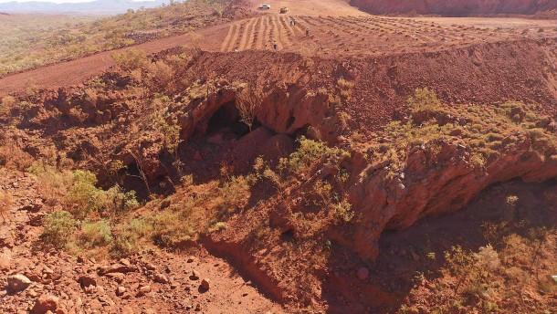 Wieder heilige Aborigine-Stätte beschädigt