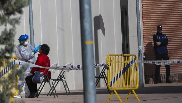 Auch Spanien zählt mehr Corona-Todesfälle als China