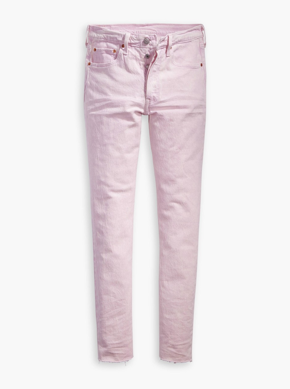 In diesem Jahr voll im Trend: Pastellfarbene Jeans, hier aus dem Hause Levi's