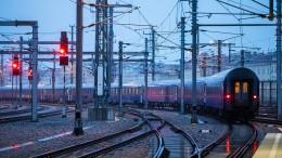 Nachtzüge fahren an Frankfurt vorbei