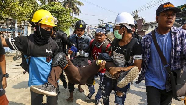 Mehrere Tote bei Protesten in Myanmar