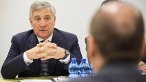 Konservative wollen Italiener zu Präsidenten des EU-Parlaments machen