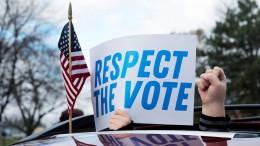 Michigan bestätigt Bidens Wahlsieg