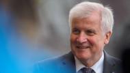 Guter Hoffnung: CSU-Chef Horst Seehofer