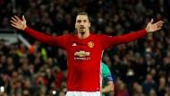 29 Tore erzielte Zlatan Ibrahimovic in 53 Spielen für Manchester United – zuletzt spielte er unter Jose Mourinho jedoch kaum eine Rolle.