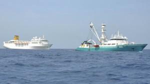 Havarie vor den Seychellen