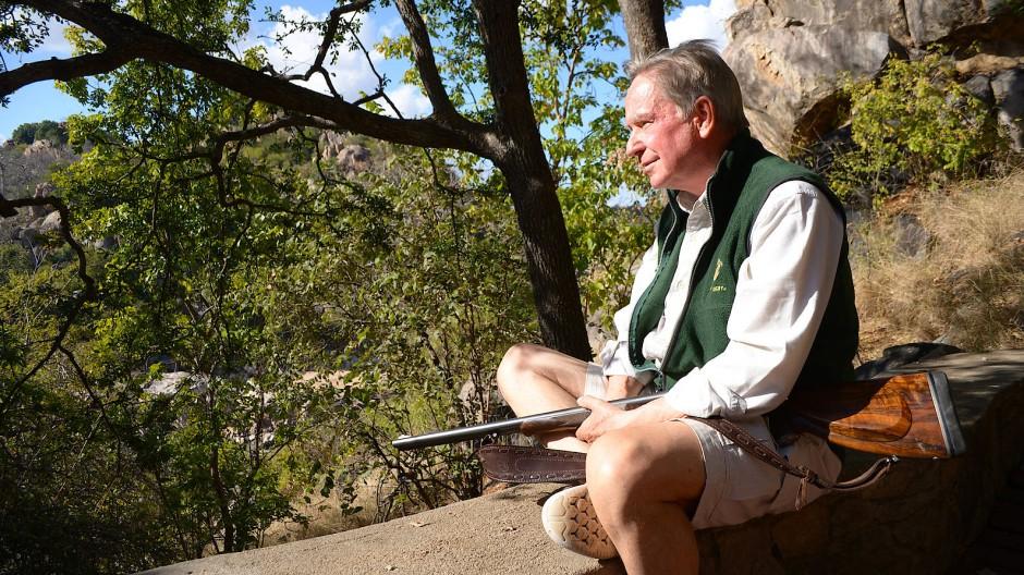 In Afrika heimisch geworden: 1992 hat Willy Pabst das Land für das Wildschutzgebiet Sango erworben.