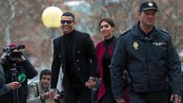 Ronaldo grinst Urteil einfach weg