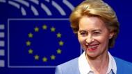 Ursula von der Leyen am Mittwoch in Brüssel