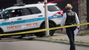 Über 100 Schießereien in Chicago