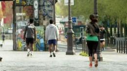 Paris verbietet tagsüber Sport im Freien