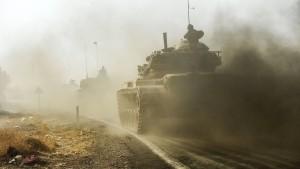 Türkei verstärkt Einsatz im Norden Syriens