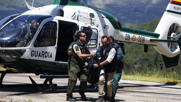 Drei Deutsche sterben bei Flugzeugabsturz in Spanien