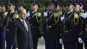 Ex-General Aoun wird neuer Präsident im Libanon
