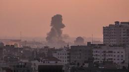 Israel reagiert mit Luftangriffen auf Raketenbeschuss