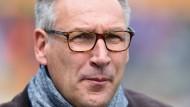 """""""Bloß nicht mit einem Kater aufwachen"""": Rüdiger Fritsch bleibt auch in der zweiten Liga Realist."""