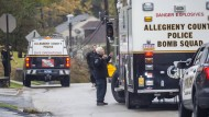 Polizeieinsatz in Pittsburgh nach dem Massaker in der Synagoge