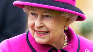 Königin Elisabeth II. ist guter Dinge