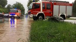 """Hochwasser geht nach Tief """"Axel"""" zurück"""
