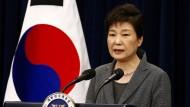 Südkoreas Präsidentin Park zum Rücktritt bereit