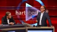 Frank Plasberg diskutiert Guido Reil, der nach 26 Jahren Mitgliedschaft in der SPD zur AfD gewechselt ist.