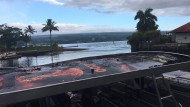 """Lava-Bombe"" trifft Touristenboot"
