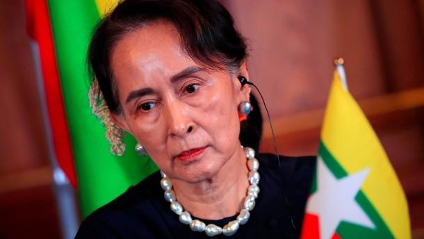 Putsch in Burma