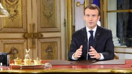 Macron glättet die Wogen