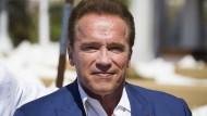 Hält nichts von Trumps Klima-Entscheidung: Schauspieler und Politiker Arnold Schwarzenegger
