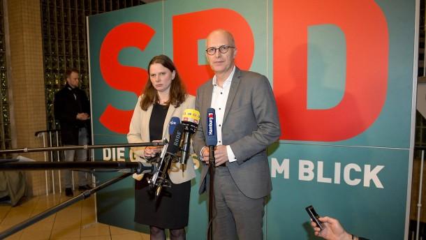 Hamburger SPD nimmt Koalitionsverhandlungen mit Grünen auf