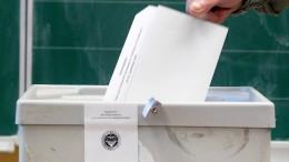 Deutschland wählt neuen Bundestag