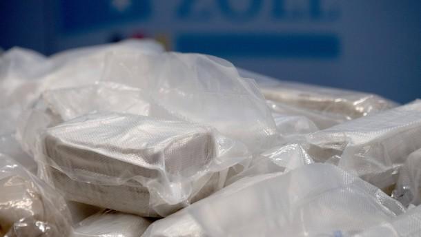 Razzia im Frankfurter Drogenmilieu
