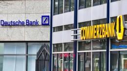 Fusionsgespräche zwischen Deutscher Bank und Commerzbank vor dem Scheitern