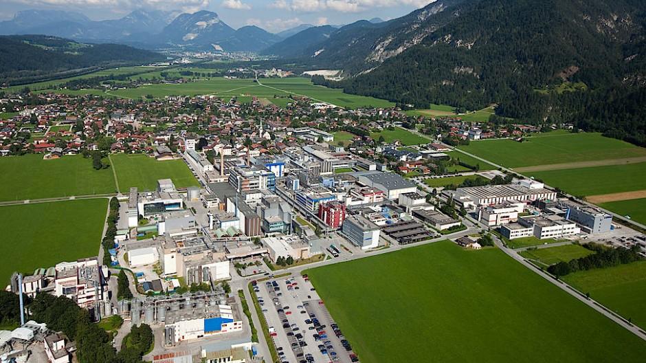 An diesem Standort im österreichischen Kundl will Novartis in Zukunft den Impfstoff von Curevac produzieren.