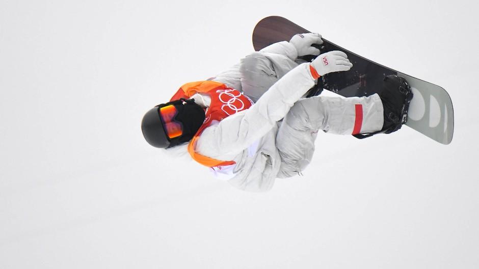 Shaun White in der Olympia-Halfpipe