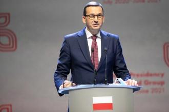 Mateusz Morawiecki ist Ministerpräsident der Republik Polen.