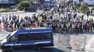 Corona-Aufstand der bulgarischen Landarbeiter