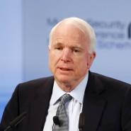 Senator John McCain auf der Münchener Sicherheitskonferenz