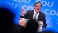 NRW-Ministerpräsident Armin Laschet beim politischen Aschermittwoch seiner Partei