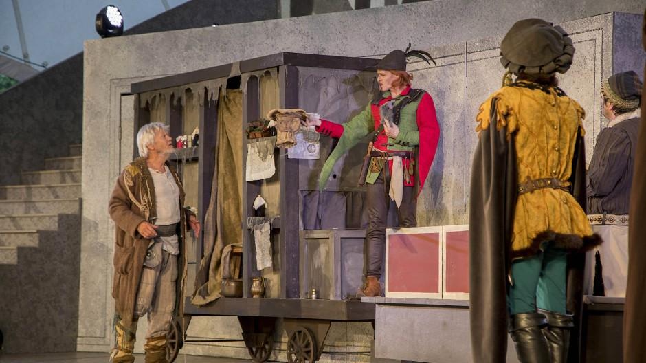 """Und dann doch das Happy End: """"Der Rattenfänger von Hameln"""" bei den Brüder-Grimm-Festspielen"""