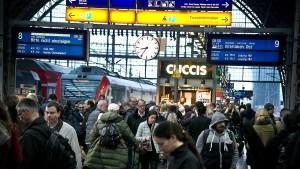 So funktioniert der Frankfurter Hauptbahnhof